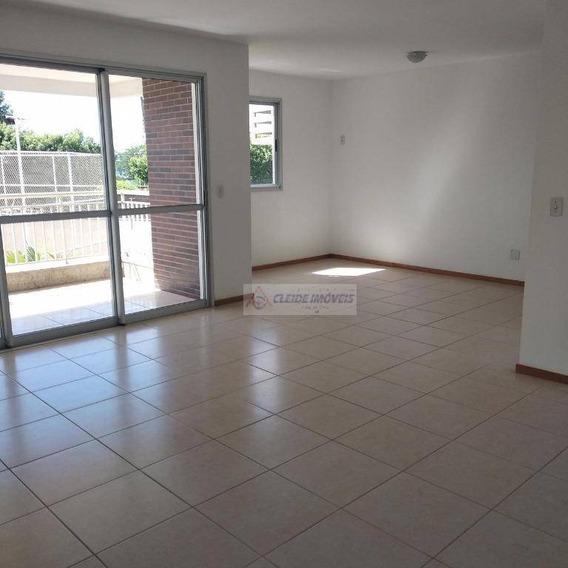 Apartamento Com 3 Dormitórios À Venda, 106 M² Por R$ 450.000,00 - Jardim Kennedy - Cuiabá/mt - Ap1596