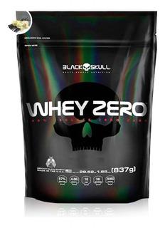 Whey Protein Zero Refil 837g - Black Skull Sem Juros