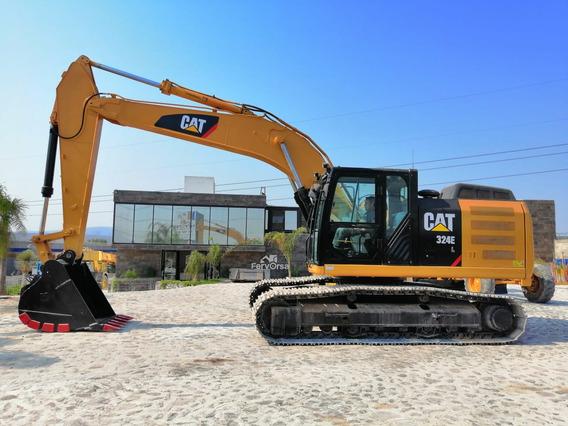 Excavadora Cat 324e 2014, 7000hrs, Servicios, Importada