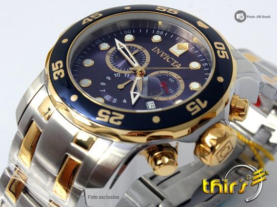 Invicta Pro Diver Scuba 0077 - 48 Mm Duocolor Original Thirs