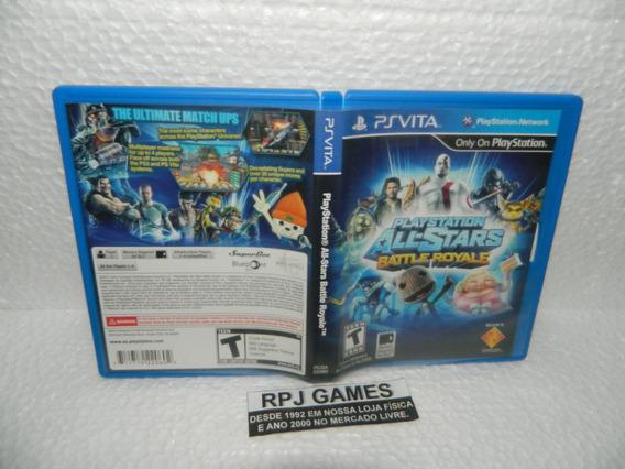 Playstation All Stars Battle Royale Original C/ Caixa Psvita