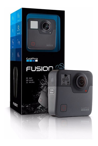 Gopro Fusion 360 Vr / Video 5.2k / Foto 18 Mp Nova Lacrada Comprada Best Buy Eua Pronta Entrega Brasil Frete Grátis