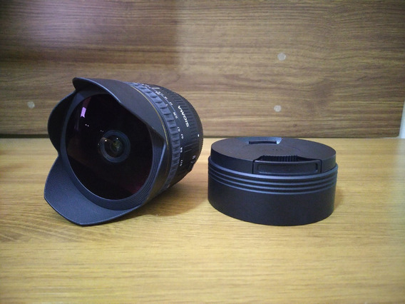 Lente Sigma 15mm F2.8 Fisheye (mount Canon)
