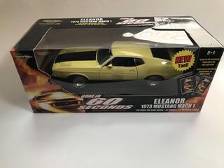Miniatura 1/18 Mustang 73 Eleanor Mach 1 60 Segundos -raro