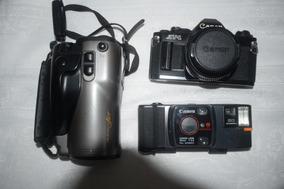 3 Câmeras Canon Diferentes