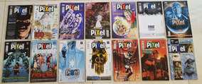 Magazine Pixel Vertigo Lote Sandman Constantine Promethea