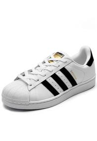 Tênis adidas Superstar Foundations Branco/preto Original