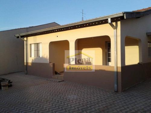 Casa Com 2 Dormitórios À Venda Por R$ 280.000 - Parque Euclides Miranda - Sumaré/sp - Ca4459