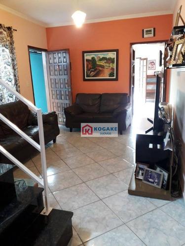Imagem 1 de 24 de Sobrado Com 3 Dormitórios À Venda, 141 M² Por R$ 480.000,00 - Vista Linda - São José Dos Campos/sp - So0737