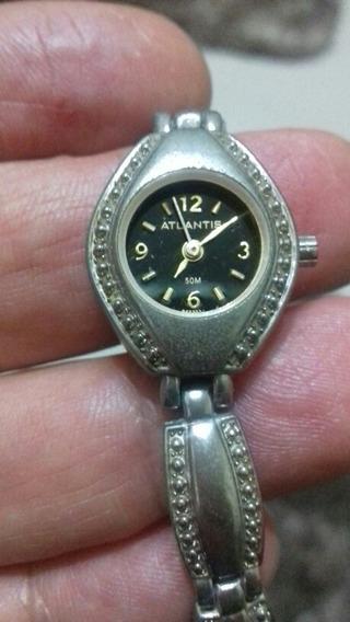 Relógio, Marca: Atlantis Modelo B552w Feminino, Ótimo.