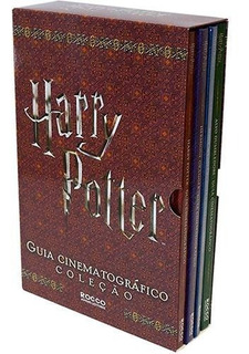 Box Harry Potter Guia Cinematográfico - 4 Livros