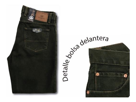 3 Pantalones Mezclilla 28-42 Axmith 32 Pulgadas De Largo