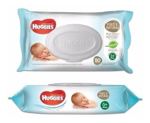 Huggies Wipes Recien Nacido 80 Toallitas Humedas X 12 Paquet
