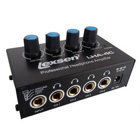 Amplificador Fone De Ouvido Lha-4c Portátil Lexsen Powerplay