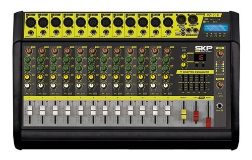 Mixer Power Consola 12 Canales Vz-120 Ii Skp - Envío Gratis