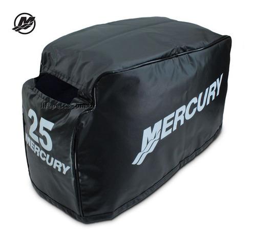 Capa P/ Capo De Motor De Popa Mercury 25 Hp Sea Pro 2 Tempos