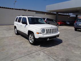 Jeep Patriot 2.4 Limited Qc Cvt 2014 Blanco Brillante