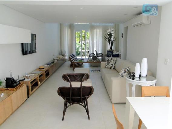 Casa À Venda, Condomínio Jequiti Residence , Praia De Pernambuco - Guarujá - Ca1358