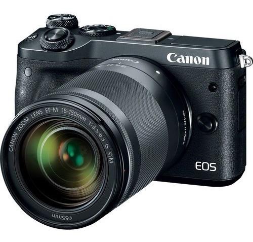 Canon Eos M6 Com Lente 18-150mm Frete Gratis*