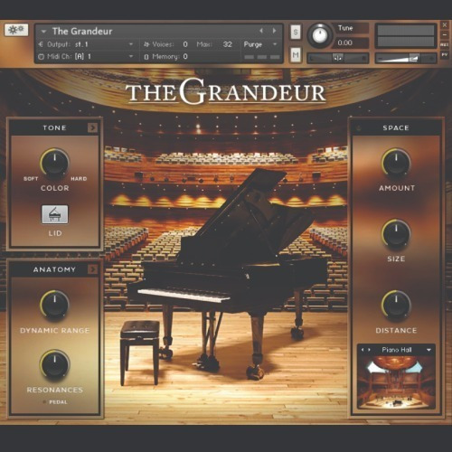 Native Instruments - The Grandeur (kontakt)