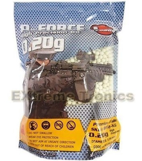 Balines Airsoft 6mm .20g Tracer Extreme Tronics 5000 Bbs