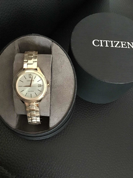 Reloj Citizen Elegante Woman Original Metalico Gold Fechero