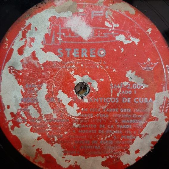 Sin Tapa Disco Los Romanticos De Cuba Tangos Cl
