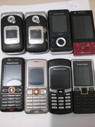 Lote 7 Celular Sony Z200,w205,t280,z530i,t290,w200