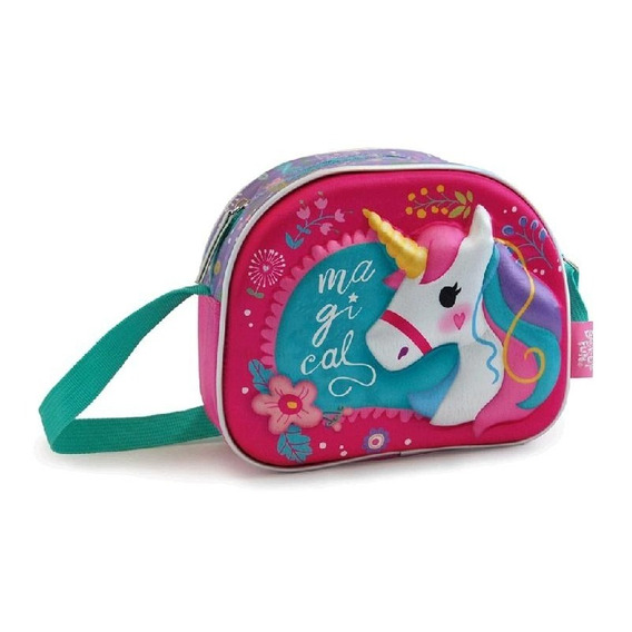 Carterita Unicornio Infantil Con Relieve 3d 55552