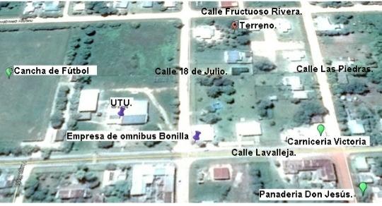 Terreno En Villa Soriano. Dpto Soriano, Uruguay