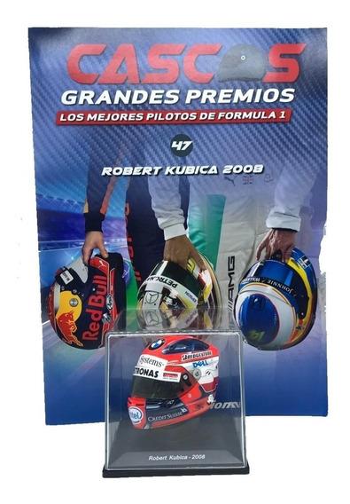Cascos Grandes Premios F1 Nº 47 Robert Kubica 2008