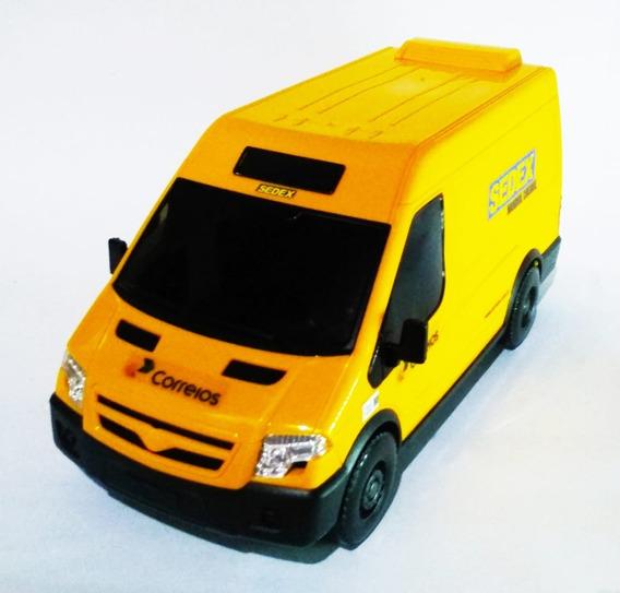 Van Correios/sedex Personalizada Brinquedo Iveco Daily 1:24