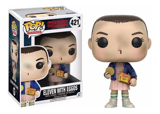 Funko Pop Eleven Eggos 421 Figure Things Stranger En Stock