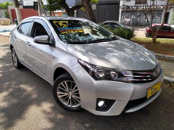 Toyota Corolla Xei Aut. 2.0 Flex 2015 Prata Muito Novo!!
