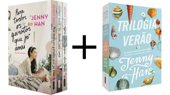 Box Livros - Para Todos Garotos Que Já Amei +trilogia Verão