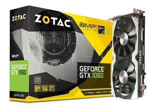 Zotac Geforce Gtx 1060 Amp! Edition - 6gb