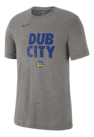Playera Nike Nba Golden State Warrior Talla Ch - Gris