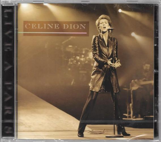 Cd Celine Dion - Live A Paris - Original E Lacrado