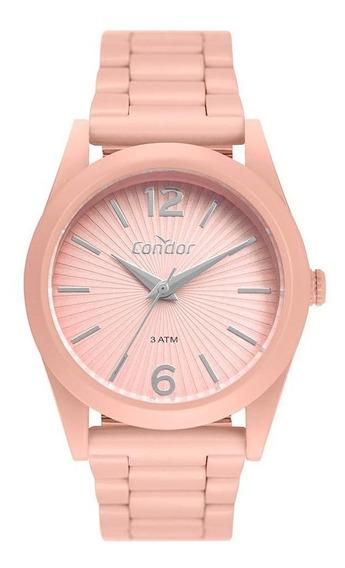 Relógio Condor Feminino Color Fun Rosa Co2035muv/8t