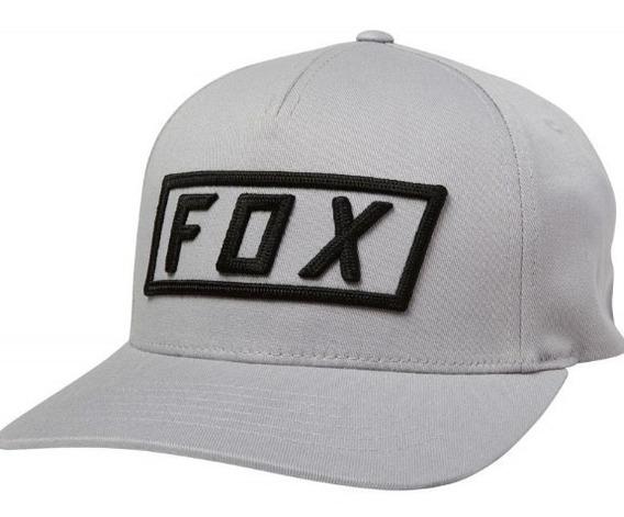 Gorra Boxer Flexfit Gris Motocross Atv Moto Fox Juri