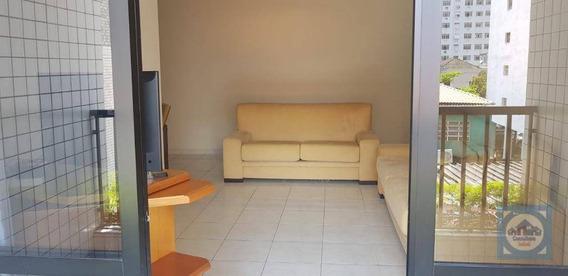 Apartamento Com 3 Dormitórios À Venda, 118 M² Por R$ 742.000,00 - Pompéia - Santos/sp - Ap3531