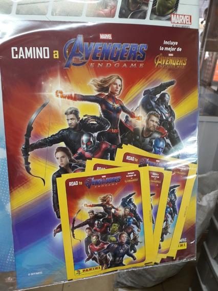 Album Panini Avengers Endgame Estampas Y Album Falta Una