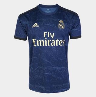 Camisa Real Madrid Azul 2019/2020 12x S/juros Frete Grátis