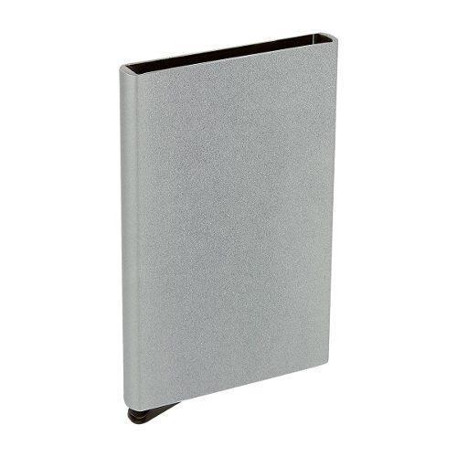 Porta Tarjetas O Tarjetero Aluminio Anticlonacion Rfid Popup