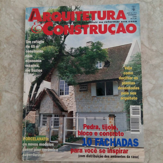 Revista Arquitetura & Construção 2/1998 Fachadas Porcelanato