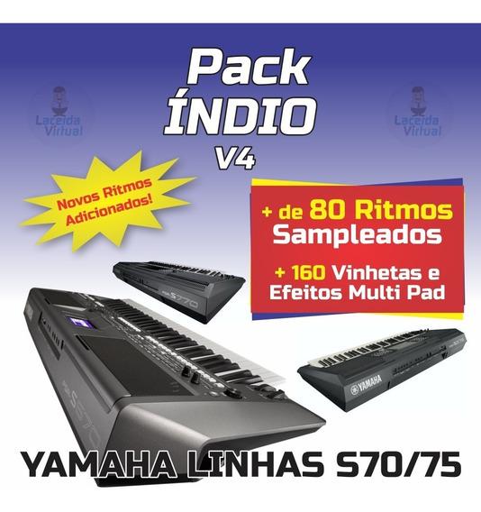 Pack Indio V4 + Ritmos (atuais) + Vinhetas MultiPad