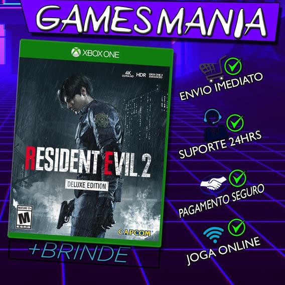 Resident Evil 2 Remake Xbox One+ 2 Brindes