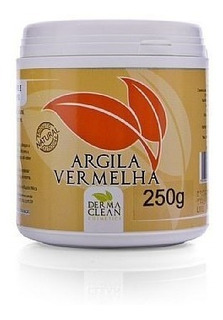 Argila Vermelha Em Pó - 250g - Dermaclean