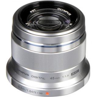 Lente Olympus 45mm F/1.8 Plata