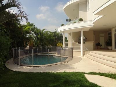 Casa Em Alphaville, Barueri/sp De 860m² 4 Quartos À Venda Por R$ 5.990.000,00 Ou Para Locação R$ 19.900,00/mes - Ca122766lr
